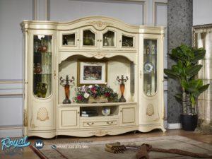 Set Bufet TV Klasik dan Almari Hias Model Spanyol Terbaru