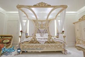 Set Kamar Tidur Mewah Dizajjn Model Furniture Tempat Tidur Jepara Terbaru