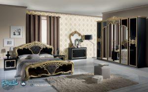 Set Kamar Tidur Mewah Eva Gold Nero Model Bedroom Terbaru