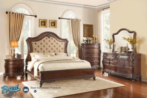 Set Kamar Tidur Mewah Furniture Klasik Jepara Set Terbaru