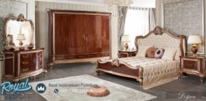 Set Kamar Tidur Mewah Ukir Jepara Bedroom Set Dogan Terbaru