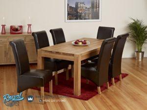 Set Kursi Meja Makan Jati Model Dining Room Minimalis Terbaru