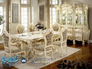 Set Kursi Meja Makan Mewah Victoria Decoration Dining Room