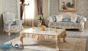 Set Sofa Tamu Mewah Ukir Jepara Klasik Arzu Mewah Terbaru