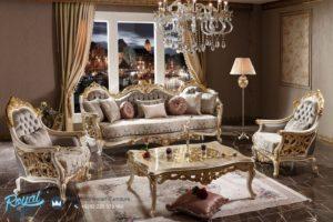 Set Sofa Tamu Mewah Ukiran Jepara Set Kursi Tamu Terbaru
