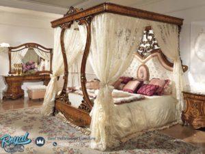 Set Tempat Tidur Krovati Jati Model Terbaru