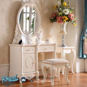 Meja Rias Mewah Klasik Dresser Model Terbaru