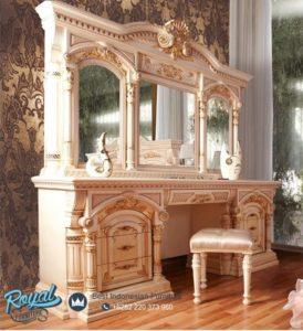 Meja Rias Mewah Seromi Klasik Europe Style Terbaru