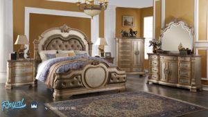 Set Kamar Tidur Mewah Infinity Gold Furniture Klasik Bedroom Terbaru