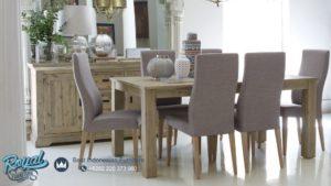 Set Kursi Meja Makan Minimalis Mewah Hampton Terbaru