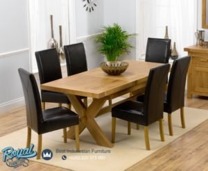 Set Kursi Meja Makan Minimalis Oak Dining Room Sets Terbaru