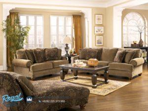 Set Kursi Tamu Sofa Mewah Jati Ashley Set Living Room Terbaru