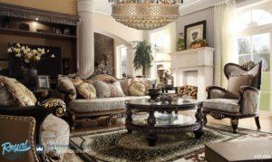 Set Kursi Tamu Sofa Mewah Ukiran Jepara Klasik Terbaru