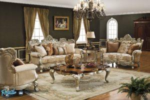 Set Kursi Tamu Sofa Victorian Living Room Mewah Terbaru