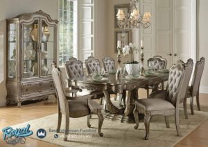 Set Meja Makan Mewah Furniture Dining Room Set Terbaru