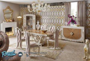 Set Meja Makan Mewah Gostinaya New Design Furniture Meja Makan Terbaru