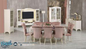 Set Meja Makan Mewah Hanzade Modern Design Minimalis Terbaru