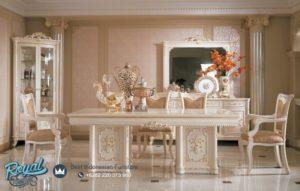 Set Meja Makan Mewah Klasik Desain Dining Room Terbaru
