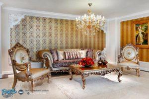 Set Sofa Tamu Mewah Klasik Chester Model Kursi Tamu Terbaru