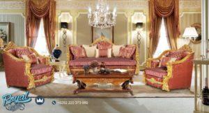 Set Sofa Tamu Mewah Ukir Jepara Klasik Terbaru