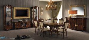 Set Meja Makan Mewah Model Viktoria Klasik Terbaru