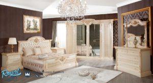 Set Kamar Tidur Mewah Eropa Klasik Ukiran Terbaru