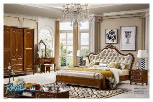 Set Kamar Tidur Mewah Klasik Furniture Bedroom Set Terbaru