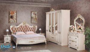 Set Kamar Tidur Mewah Spalnya Magdalina Duco Putih Terbaru