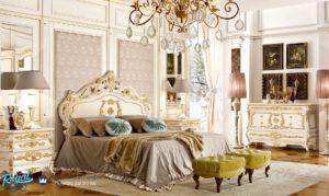 Set Kamar Tidur Mewah Spalnya Versilases Klasik Ukiran Terbaru