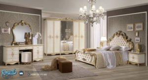 Set Kamar Tidur Mewah Ukiran Super Bed Klasik Furniture Terbaru