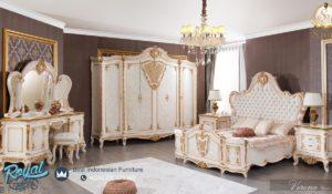 Set Kamar Tidur Mewah Verona Europe Klasik Ukiran Terbaru