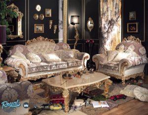 Set Kursi Tamu Sofa Mewah Luxury Italian Furniture Terbaru