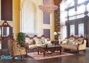 Set Kursi Tamu Sofa Mewah Luxury Living Room Set Terbaru