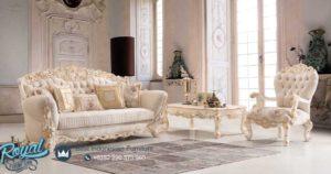 Set Kursi Tamu Sofa Mewah Mobilia Furniture Ukiran Terbaru