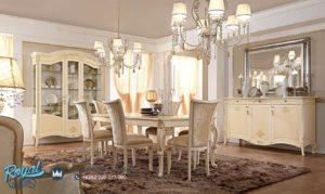 Set Meja Makan Mewah Elegan Prestige Dining Room Terbaru