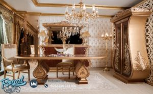 Set Meja Makan Mewah Kapaletti Dining Room Set Terbaru