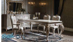 Set Meja Makan Mewah Odasi Furniture Ruang Makan Mewah Terbaru