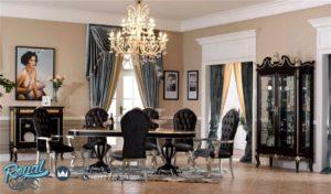 Set Meja Makan Mewah Royal Dining Room Table Terbaru