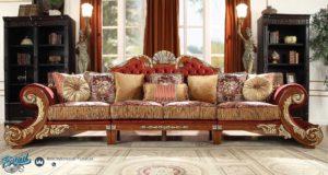 Set Sofa Tamu Mewah Estilo Victorian Ukir Mewah Terbaru