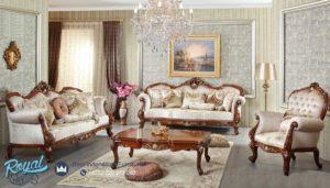 Set Sofa Tamu Mewah Klasik Sato Takimi Furniture Terbaru
