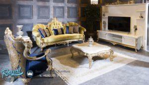 Set Sofa Tamu Mewah Sancak Living Room Set Terbaru