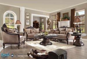 Set Sofa Tamu Mewah Traditional Living Room Terbaru