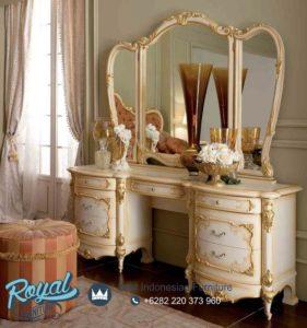 Meja Rias Mewah Klasik Furniture Belize Terbaru