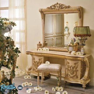 Meja Rias Mewah Super Furniture Klasik Mewah Terbaru