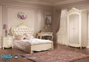 Set Kamar Tidur Eropa Style Full Putih Model Terbaru