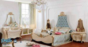 Set Kamar Tidur Mewah Eropa Klasik Dipan Set Terbaru