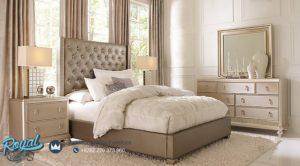 Set Kamar Tidur Mewah Premium Minimalis Grey Terbaru