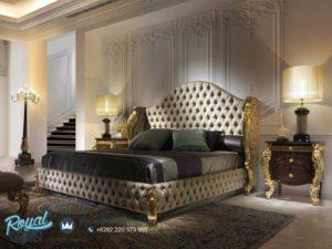 Set Kamar Tidur Mewah Royal Viber Ukiran Gold Terbaru