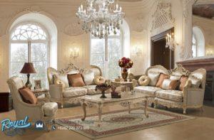 Set Kursi Tamu Mewah Traditional Living Room Model Terbaru