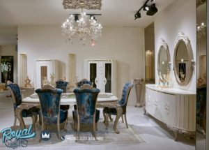 Set Meja Makan Mewah Dining Room Set Terbaru